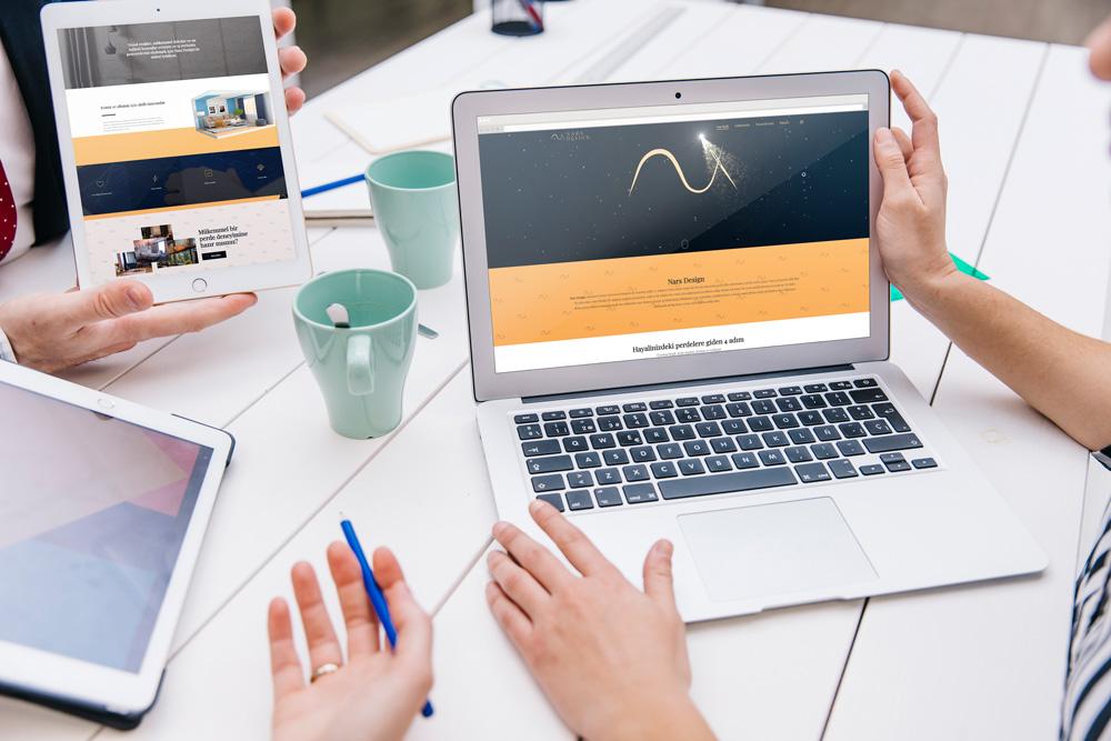 Nars Design Web Sitesi Tasarımı